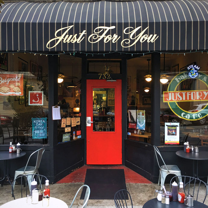 Just For You Cafe, San Francisco: Breakfast and Lunch Diner. 732 ...